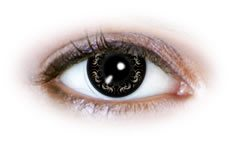 Swirly Black (N509) | Party Contact Lenses