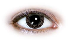 Neo Cosmo - Silver Flames Contact Lenses (N525)