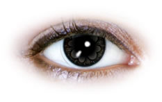 Neo Cosmo - Grey Clover Contact Lenses (N535)