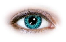 2 Tone Aqua (N226) | Natural Colour Contact Lenses