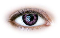 Neo Cosmo - Violet Colour Ring Contact Lenses (N023)