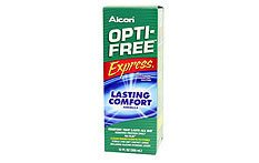 OptiFree Express - 120ml | Contact Lens Cleaning Solution