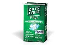 OPTI-FREE PRO Moisturising Lens Drops 10ml | Contact Lens Friendly Eye Drops