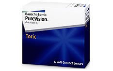 Purevision Toric | Monthly Contact Lenses