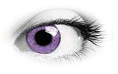 Queens Oros Mystery Violet | Natural Colour Contact Lenses