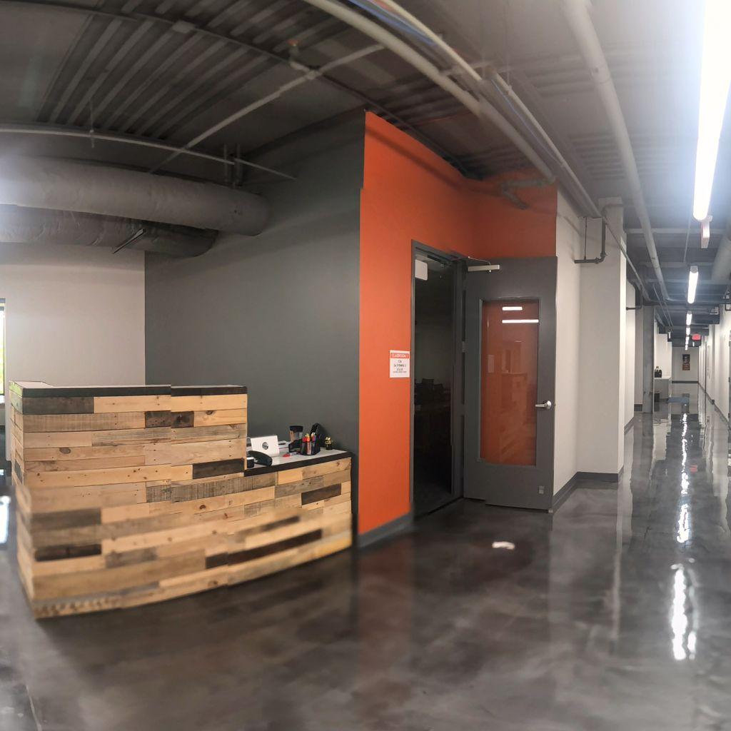 Hall 1.3 (Reception/Administration Area)