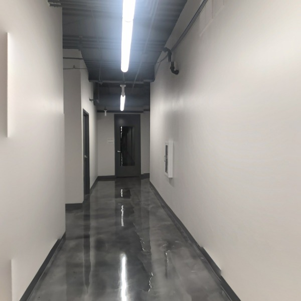 Hall 1.2 (Bathrooms + Staff Work Space)
