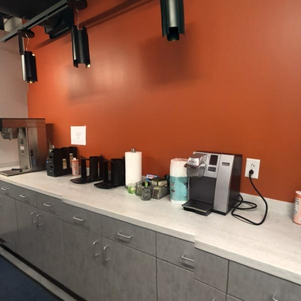 Hall 2.1 (Main Coffee Station)