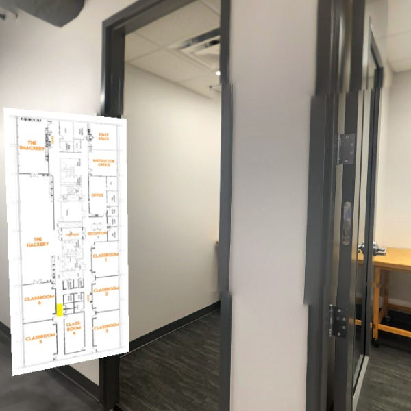 Hall 2.6 (Classrooms 4-6 + Phone Rooms)