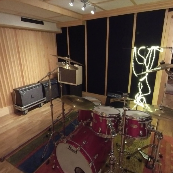Studio A med trommer