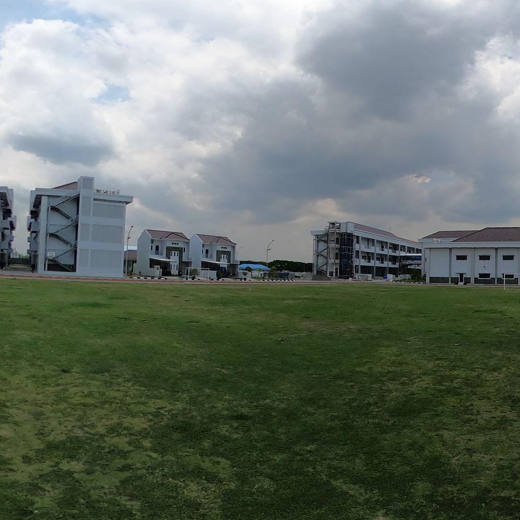 Soccer Field Center View