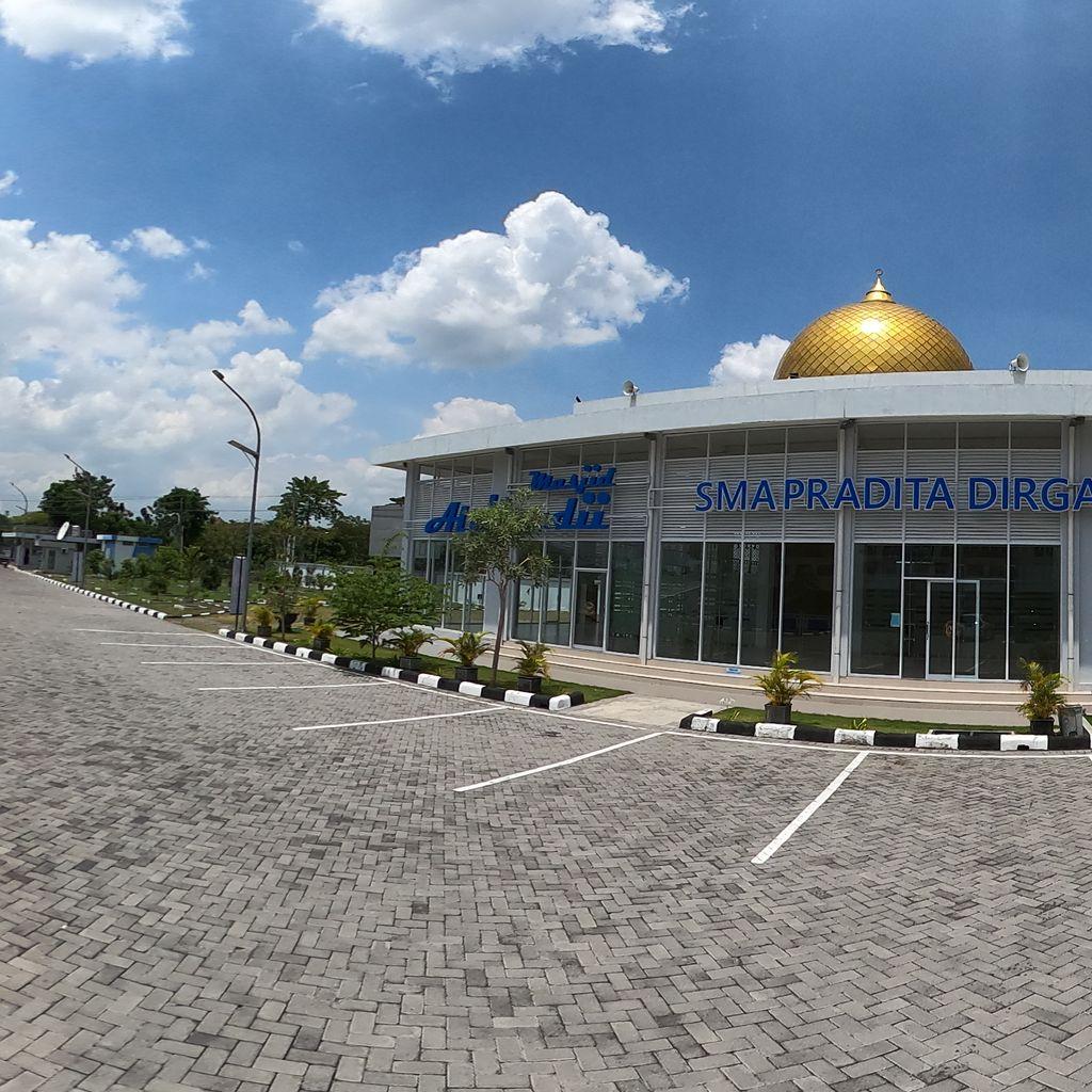 Outside of Masjid