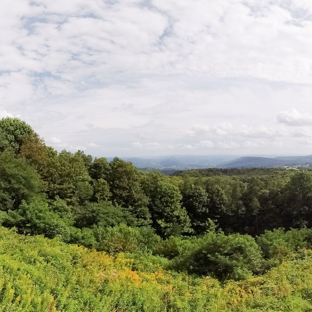 Highland Scenic Highway Overlook