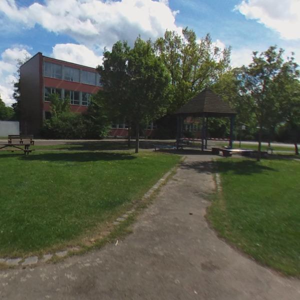 Der grosse Schulhof