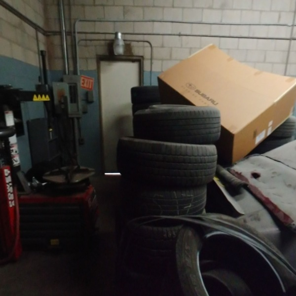 Back Area /  Tires