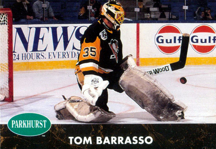 Tom Barasso hockeykort