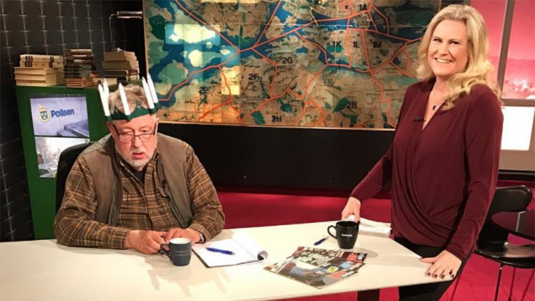Picture: Här ger sig Leif GW Persson in i lucia-debatten