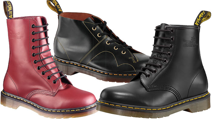 Picture: Dr. Martens nylanserar sina originalmodeller i Originals Collection