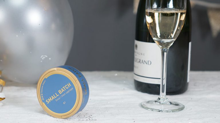 Picture: Champagnesmak först ut i Swedish Match nya snuskoncept