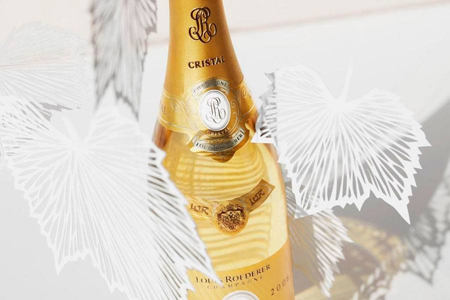 Champagnen Louis Roederer Cristal 2008.