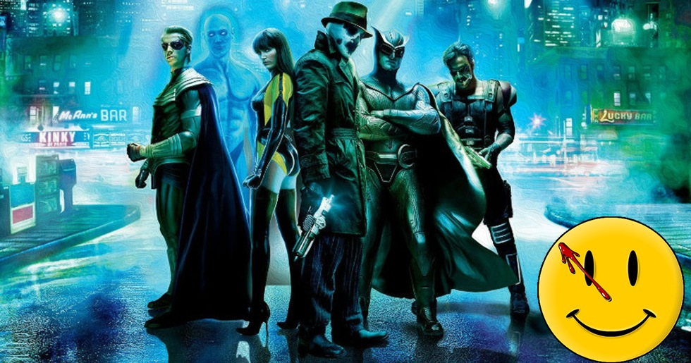 "Serien ""Watchmen"" blir TV-serie på HBO 2019."