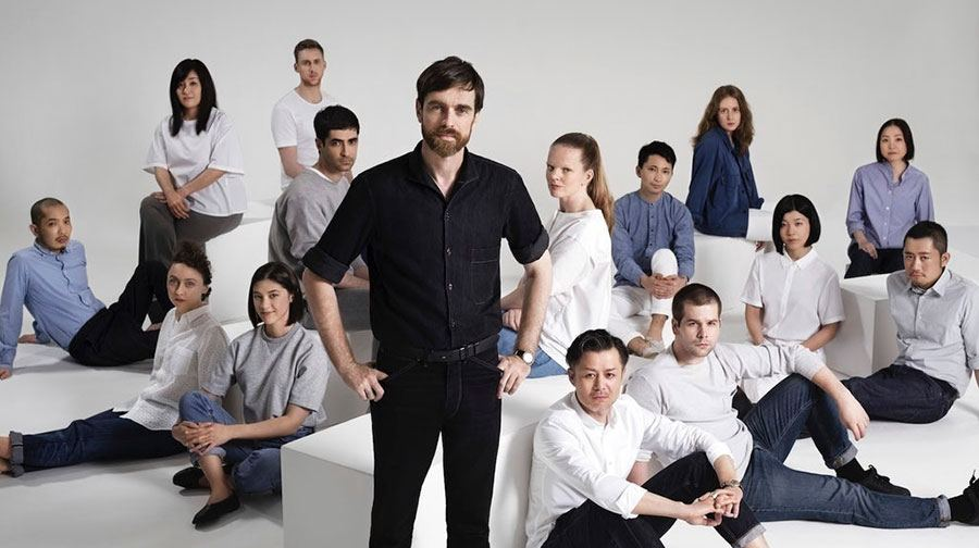 Christophe Lemaire är kreativ chef för Uniqlos R&D-center i Paris.