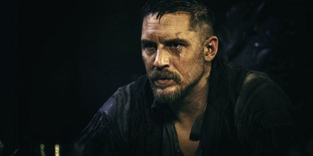 Tom Hardy i tv-serien Taboo
