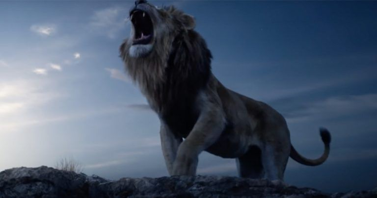 Bilder från nya live-action-filmen The Lion King.