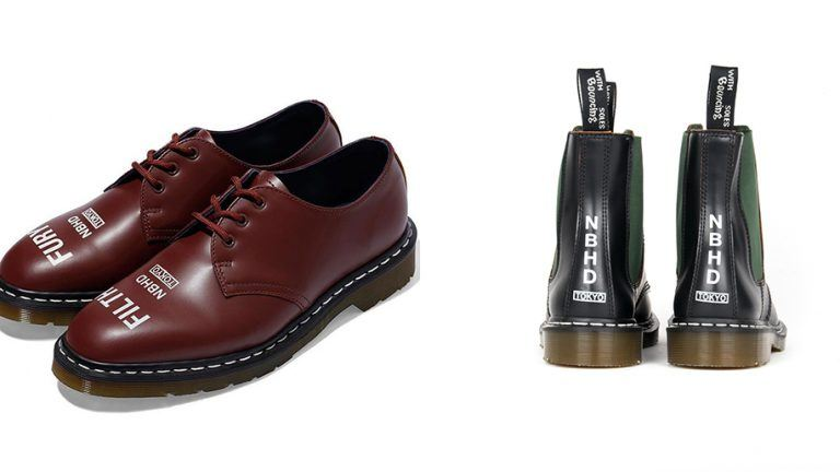 Picture: Dr. Martens samarbetar med japanska Neighborhood