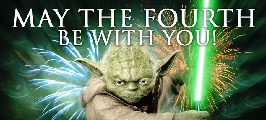 """May the fourth be with you""-memes roar inte Emil Persson."