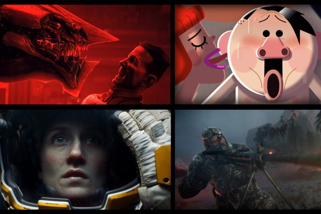 Love, Death and Robots. Netflix