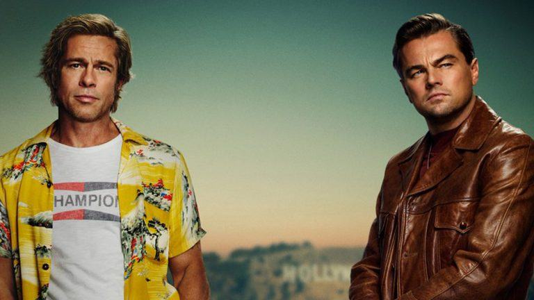 Brad Pitt och Leonardo DiCaprio i Once Upon a Time in Hollywood.