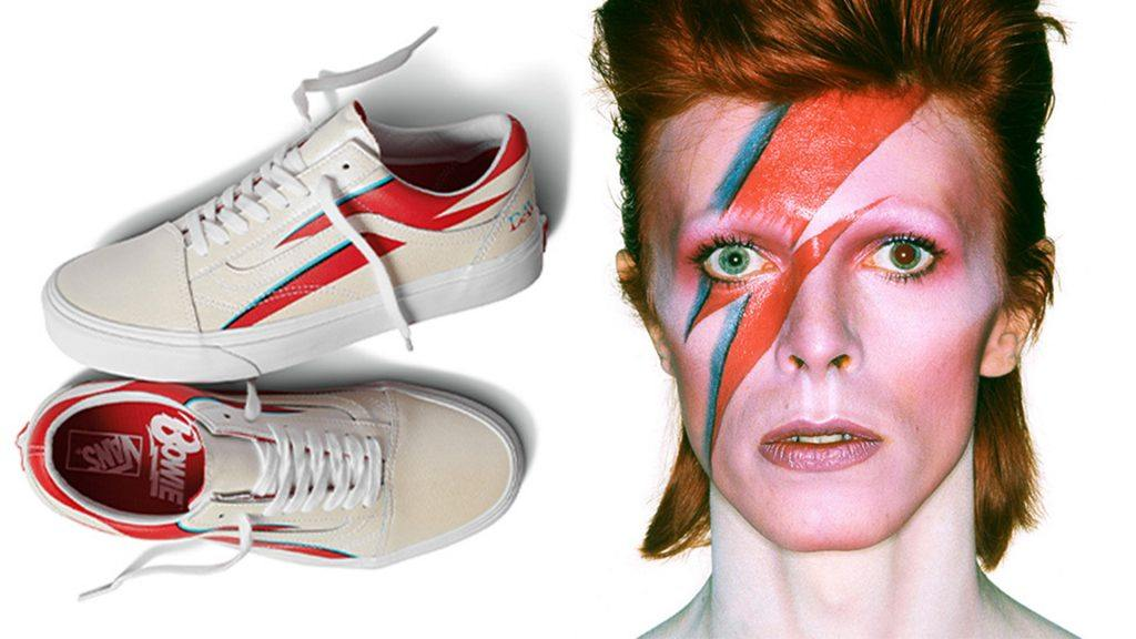Vans sneakers och David Bowie.