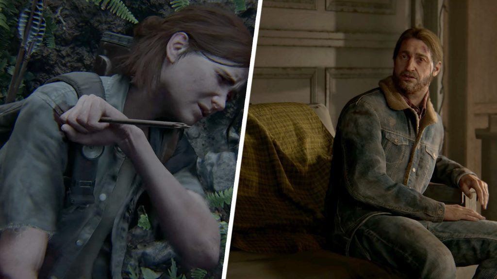 Ellie och Joel i The Last of Us 2