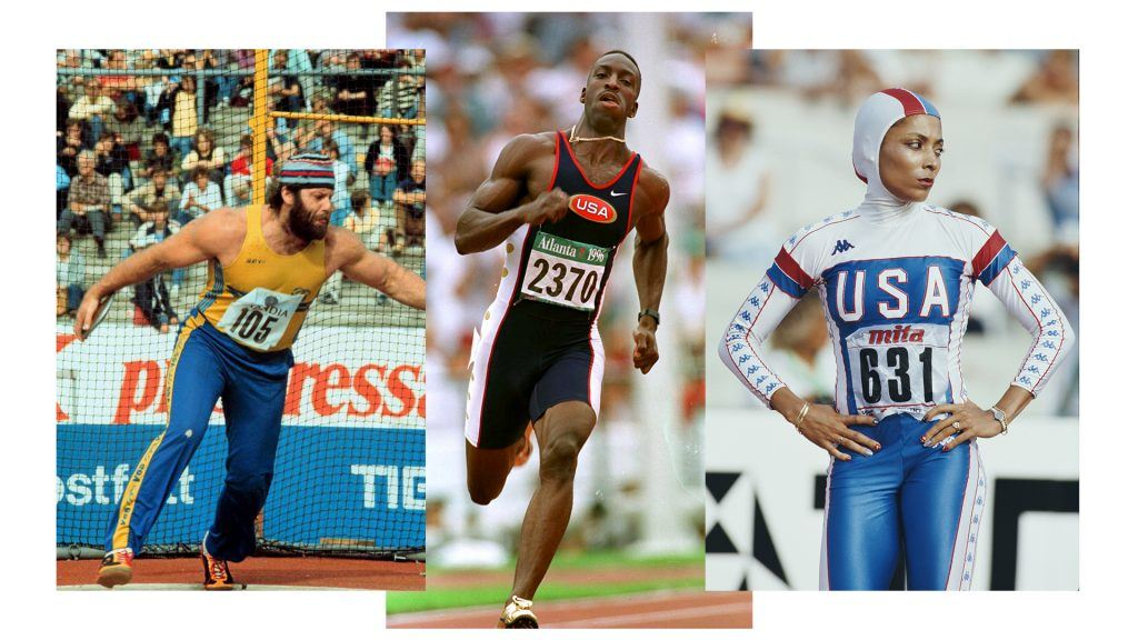 Ricky Bruch, Michael Johnson och Florence Griffith Joyner