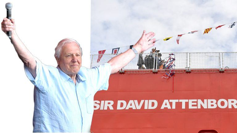 David Attenborough.