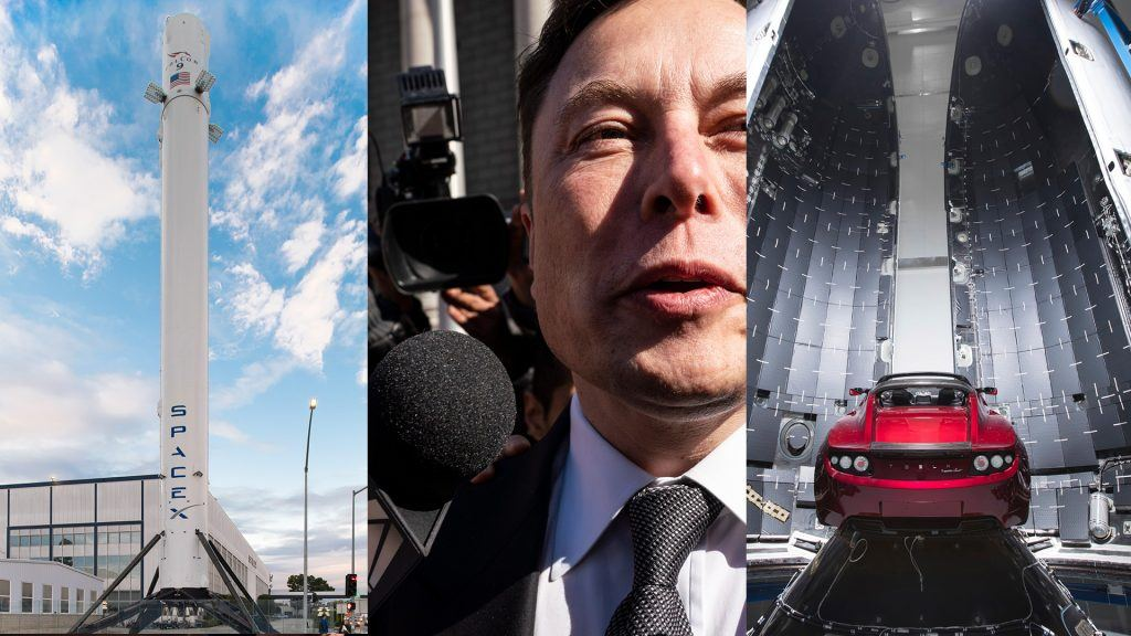 SpaceX, Elon Musk och Tesla Motors.