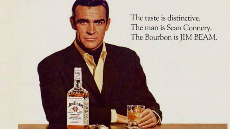 Jim Beam Sean Connery ad