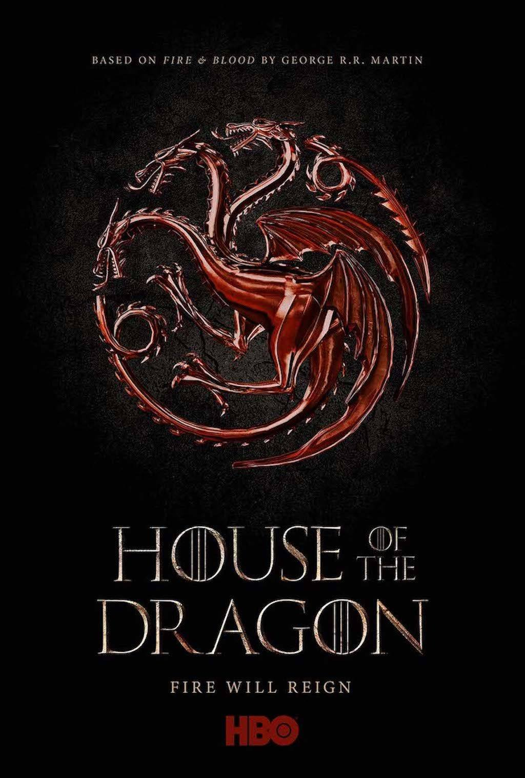 Poster till tv-serien House of the Dragon.