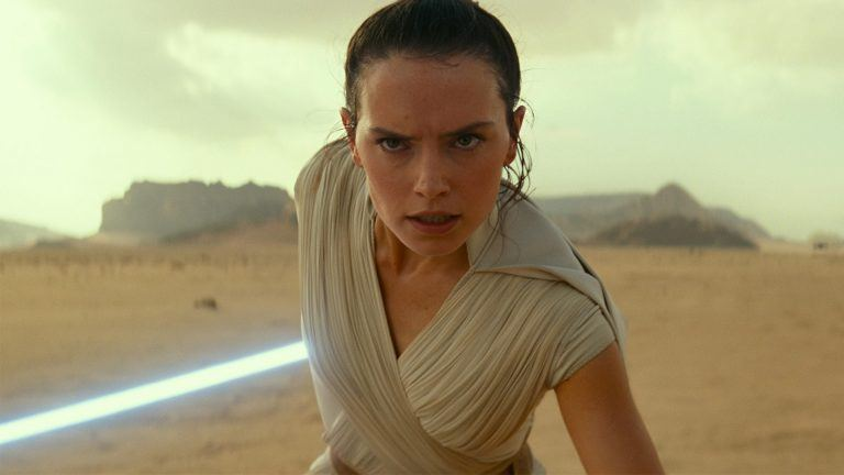 Rey i Star Wars: The Rise of Skywalker