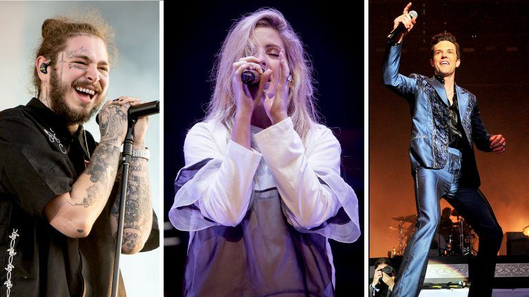 Post Malone, Ellie Goulding, Brandon Flowers