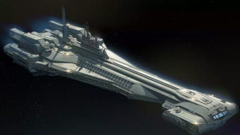 Star Wars cruiser Disney