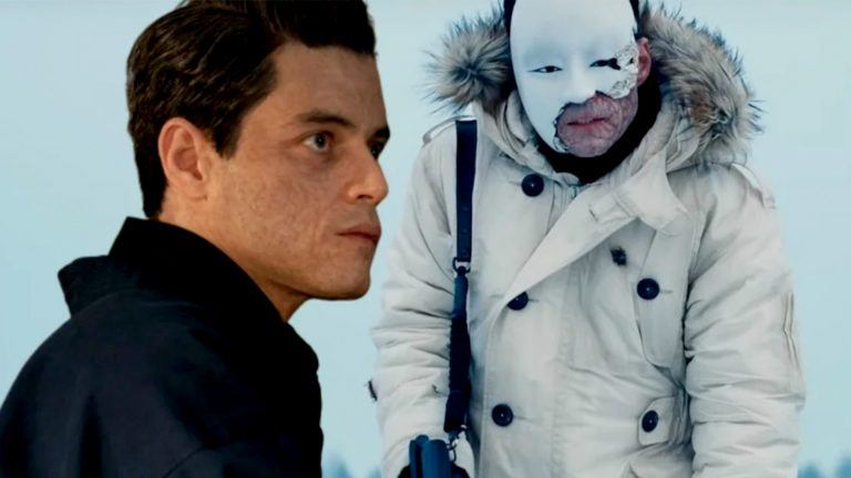 Rami Malek i Bond-filmen No Time To Die