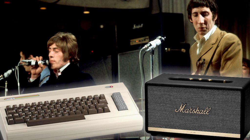 Commodore 64, Marshall Stanmore och bandet The Who live under 60-talet.