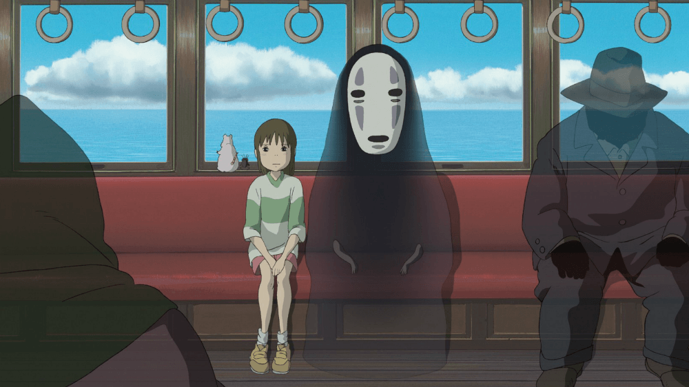 FIlmen Spirited Away.