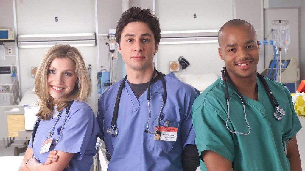 Tv-serien Scrubs.