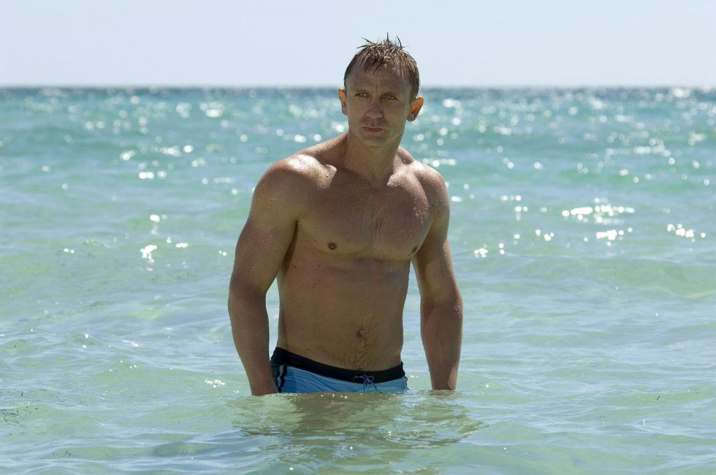 Daniel Craig som James Bond i Casino Royale.