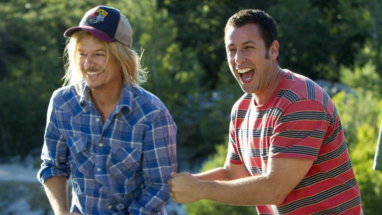 Adam Sandler och David Spade i Grown Ups 2
