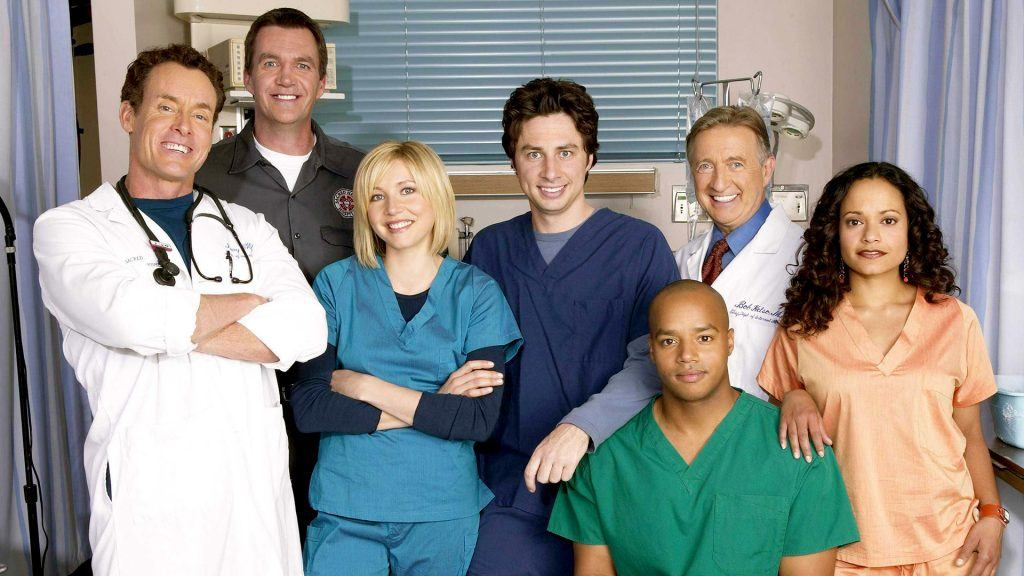 Casten i tv-serien Scrubs.