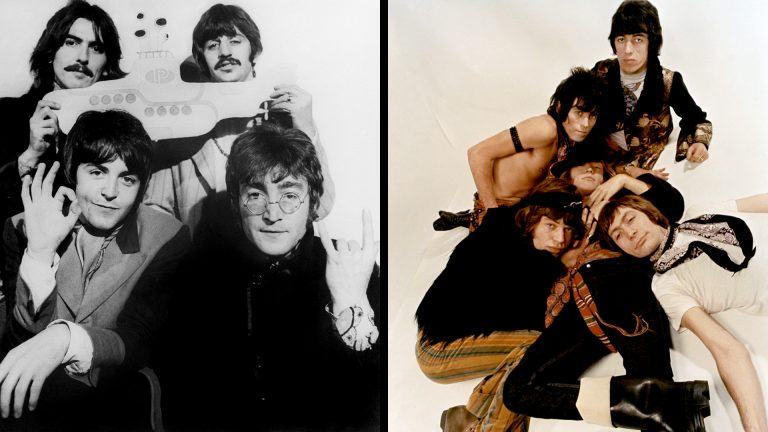 The Beatles och Rolling Stones